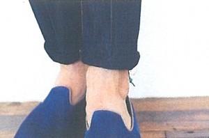 ②パンツの裾幅