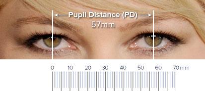 瞳孔間距離