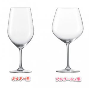 ワイングラス ボルドー型 ブルゴーニュ型