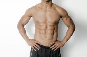 腹筋が割れる順番とシックスパックになる体脂肪率の目安